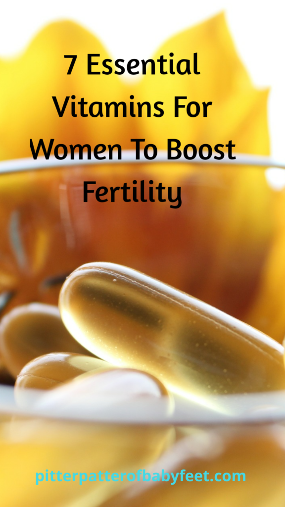7 vitamins for women to boost fertility